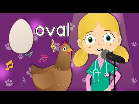 The Egg Shapes Song with Dr Poppy   Toddler Fun Learning