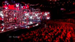 Hadise Düm Tek Tek HD {Eurovision Song Contest 2009 Semi Final}
