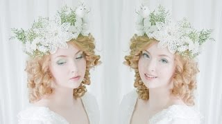 Glittery Winter Headpiece - Tutorial