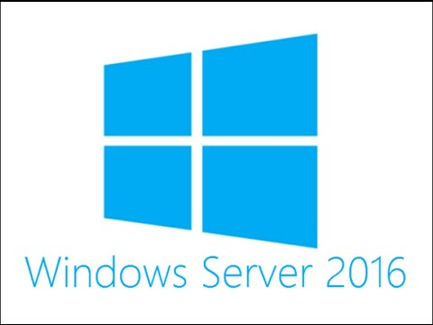 How To Install Window Server 2016
