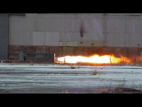 HEAT-1X static fire test