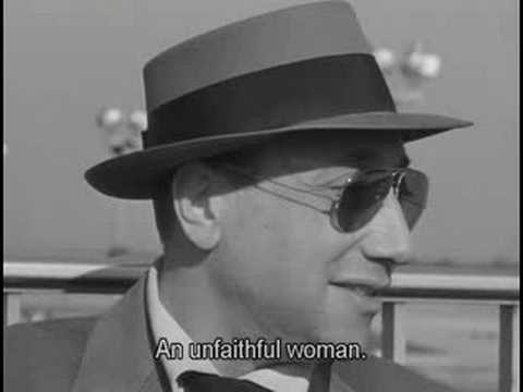Jean-Pierre Melville's cameo in Breathless