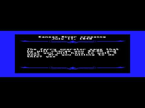 Oregon Trail - Oregon Trail (APPLEII) - Vizzed.com Play - User video