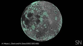 New moon map reveals plains formed from huge impacts | Science News