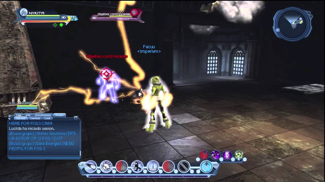 dcuo electric dps might 2704 prec 984 youtube