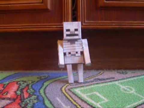 Minecraft из Бумаги - 129