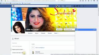 How to make 100% complete a Facebook profile [BD]