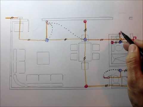 INSTALACIONES ELÉCTRICAS DE UNA CASA (En planos)