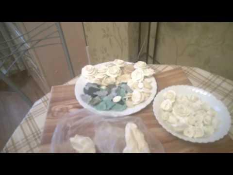 необходимые заготовки+ новый рецепт холодного фарфора