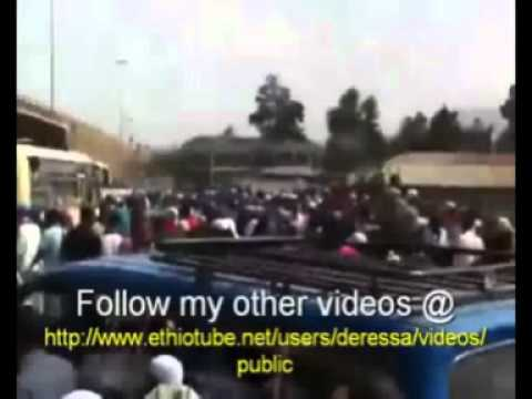 bilal tube - Ethiopian Muslims demonstration on May 25/2012 full video