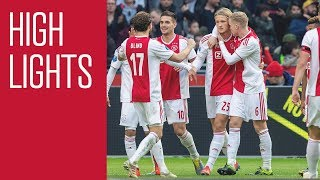 Highlights Ajax - NAC Breda
