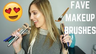 MY FAVORITE MAKEUP BRUSHES - 2019