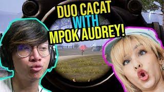 DUO WITH MPOK AUDREY RUSAK PARAH WKWK - PUBG MOBILE INDONESIA