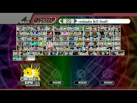 Super Smash Brothers Brawl Pikezer's BrawlEX Pack V. 3.1 - Download Link Available In Description