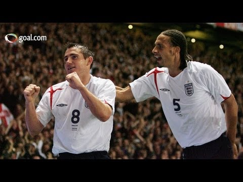 Frank Lampard on Rio Ferdinand's England future and San Marino