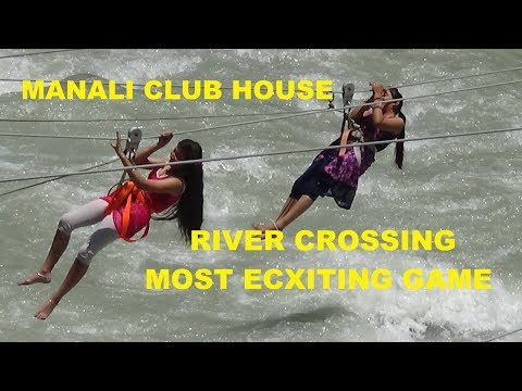 Bouncing on Manaslu River at Club House, Manali, India Tourism Video