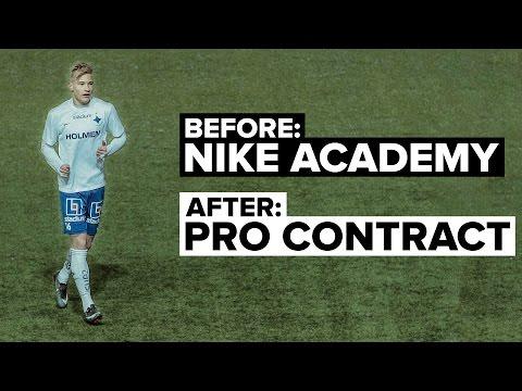 Nike Academy: How I became a Pro Footballer   Pontus Almqvist