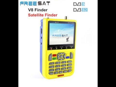 Lcd Display freesat v8 Sat Finder