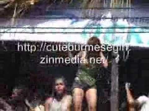 MYANMAR YANGON THINGYAN THINGGYAN WATER FESTIVAL WITH HOT GIRLS