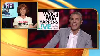 Kathy Griffin Attacks Andy Cohen & Donald Trump