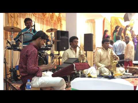 Santhana thendralai song by saxophone brothers