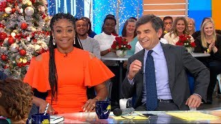 GMA' Hot List: Tiffany Haddish forces George Stephanopoulos to dance