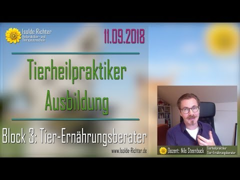 Nils Steenbuck - Tier-Ernährungsberatung