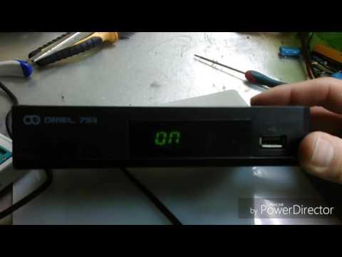 Dvb T2 Oriel 793 Прошивка - YouTube