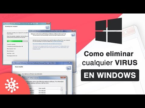 Como ELIMINAR Cualquier VIRUS de PC & USB en WINDOWS 10, 8, 7 FACIL Y RAPIDO
