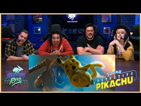 POKÉMON Detective Pikachu - Official Trailer #1 Reaction