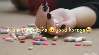 New heart touching song WhatsApp status Hina Khan Nikita Khan