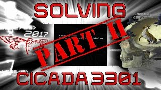 Solving The Cicada 3301 2017 Puzzle | PART 2 | The Internet's Most Complex Puzzle
