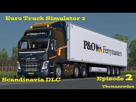 Euro Truck Simulator 2   Scandinavia DLC   Episode 2 a trip to Malmö