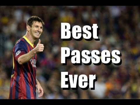 Lionel Messi ● Best Passes Ever Compilation [HD]