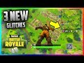 3 NEW GLITCHES GOD MODE ! FORTNITE BATTLE ROYALE (TOP 1 FACILEMENT)