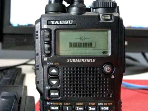 Yaesu VX-8R Programing frequencies with software