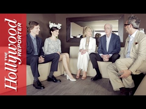Michael Caine and Jane Fonda with 'Youth' Cast Talks Live From Cannes (Video)