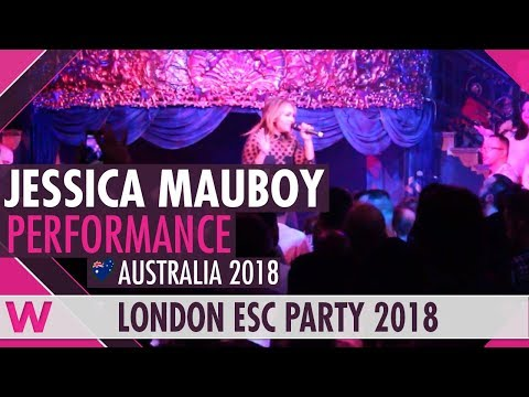 "Jessica Mauboy ""We Got Love"" (Australia 2018) LIVE @ London Eurovision Party 2018"