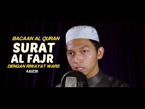 Bacaan Al-Quran Riwayat Wars: Surat 89 Al-Fajr - Oleh Ustadz Abdurrahim - Yufid.TV