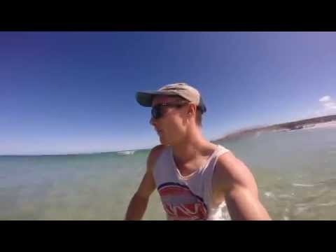 Solo Shark Fishing From The Beach