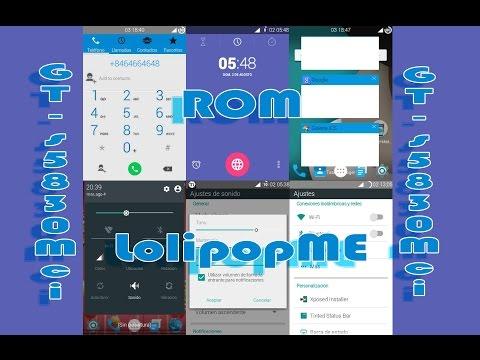 Rom LollipopME FINAL(Basada en CM7.2) / Galaxy Ace GT-s5830m-i-c