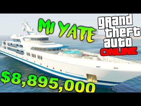 MI YATE DE LUJO!! CASI 10 MILLONES DE DOLARES GTA V NEW DLC EXECUTIVES & OTHERS CRIMINALS Makiman