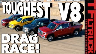 World's Toughest Truck Drag Race: You Asked For It - V8 Edition!
