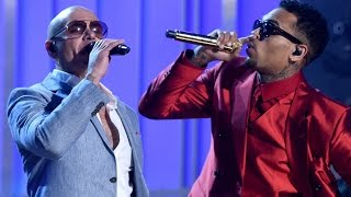 Pitbull & Chris Brown 'Fun'  2015 Billboard Music Awards Performance