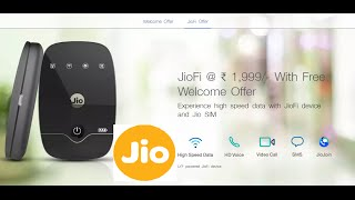 Hindi | Reliance Jio Wireless Wifi Device JioFi2 Unboxing & First Look | Sharmaji Technical