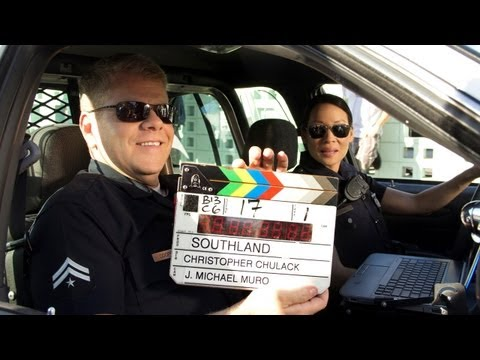 SOUTHLAND's Michael Cudlitz, Armed & Primped - QUIET ON THE SET