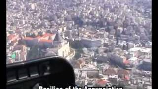 Flight over northern Israel including important Christianity sites
