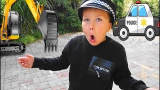 Kids Playing with Cars Funny Kid Video for Children and Toddlers