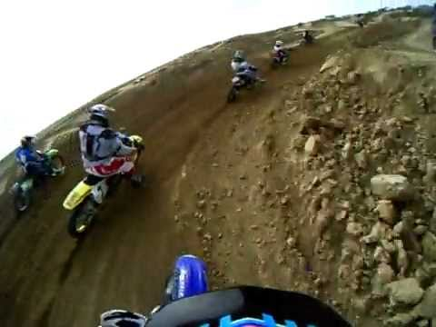 Cody Irby w/ GoPro Wide Camera @ Aaron Hill Fundraiser MX Race Second Moto Video
