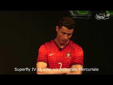 Cristiano Ronaldo o Nike Mercurial Superfly IV // TEPY.PL
